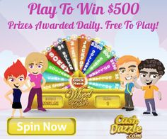 » CashDazzle gives you the chance to win every day by playing your favorite games and entering sweepstakes! Bargain Hound Daily Deals