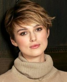 Short cropped do, love the color too.