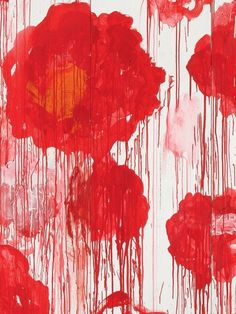 cy twombly at the ce