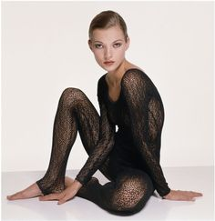 Kate Moss par Terry O Neill