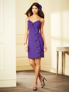 Alfred Angelo Short Bridesmaid Dress 7294S