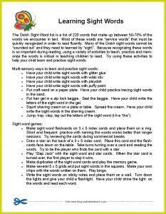 parent handout, parent communication