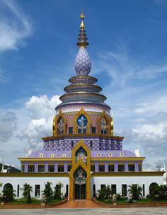 Chedi Kaew Pagoda, Wat Thaton | Chiang Rai, Thailand