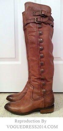 Frye boots #Buckle #brwon