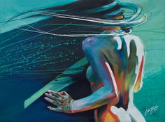 """Saatchi Online Artist: Colin Staples Life Art; Acrylic 2014 Painting """"Back to the Wall"""""""