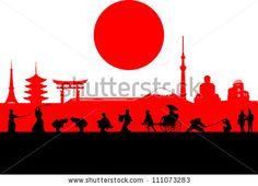 Japan Silhouette by Seita, via Shutterstock