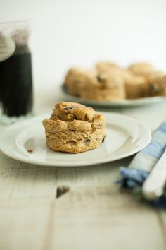 Blueberry Scones: made with kamut flour.