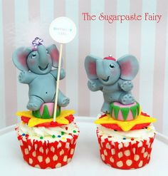The Circus is coming to Town! elephants