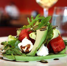 Avocado, watermelon Salads