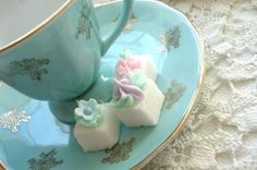 Sugar cubes with charm.