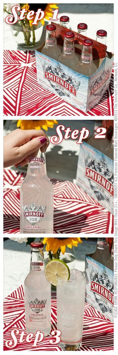 A six-pack of Smirnoff Ice and some good friends to share it with are all you need this summer!