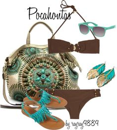 Pocahontas, created by raven-ferrel on Polyvore
