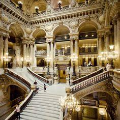 Opera Garnier, France via natasha