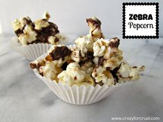 Zebra Popcorn - Crazy for Crust   Crazy for Crust