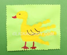 Dd is for duck