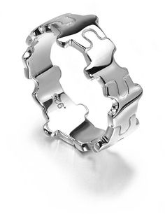 jigsaw ring by lucyq | notonthehighstreet.com