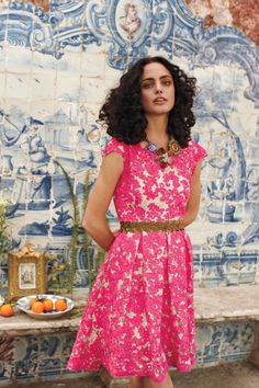 gorgeous lace dress from anthropologie