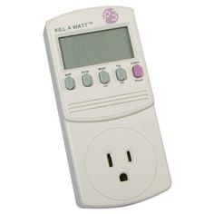 P3 International P4400 Kill A Watt Electricity Usage Monitor - Amazon.com   FIND THE ELECTRICITY HOGS AT THE HOUSE................