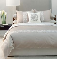 Simple and neutral bedroom