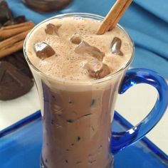 Abuelita Chocolate and Peanut Butter Smoothie Recipe