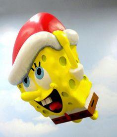 Macy's Thanksgiving Day Parade SpongeBob SquarePants Balloon