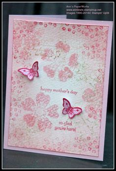 Morning Meadow Mother's Day card - Ann's PaperWorks, Brisbane