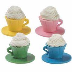 Cute candy melt dessert cups