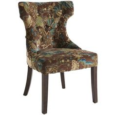 Floral chair on pinterest - Pier one peacock chair ...