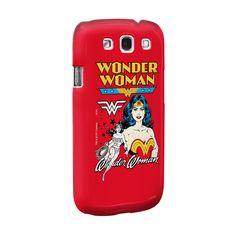 Capa de Celular Samsung Galaxy S3 Power Girls Mulher Maravilha #WonderWoman #bandUPStore
