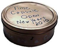 new years eve time capsule