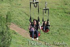 Zip lining anyone? Park City Mountain Resort, Utah. Photo from anutinanutshell.com. Pinned by evoconference.com #evoconf