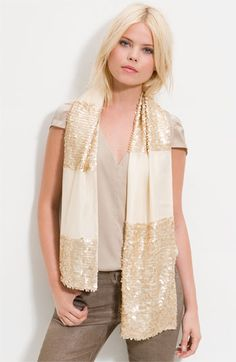 Glint Sequin Scarf