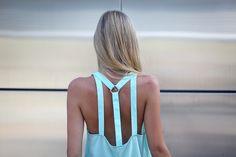 dress, mint, summer colors, cut outs, baby blues