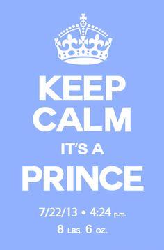 Keep Calm...Royal Baby