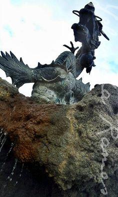 """""""Dragón del parque"""" de Yolanda Ramos"""