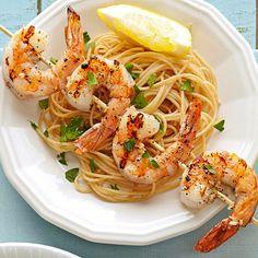 Skewered Shrimp Scampi