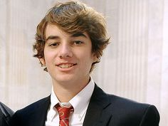Connor Kennedy - son of RFK Jr