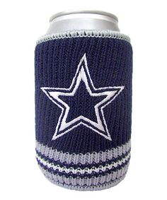 Dallas Cowboys Knitted Can Koozie