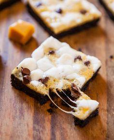 Marshmallow Caramel Oreo Cookie Bars
