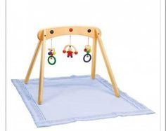 3 Beautiful wood play gyms for baby