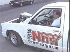 INSANE blown Chevy S10 burnout Badass cam!