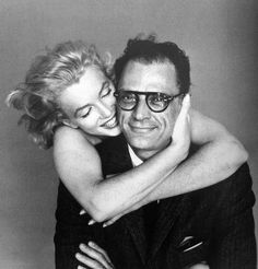 Marilyn Monroe and Arthur Miller photographed by Richard Avedon, 1957