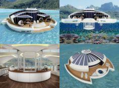 Solar Floating Resort, by Designer Michele Puzzolante