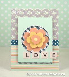card idea, paper craft, card inspir, homemad card