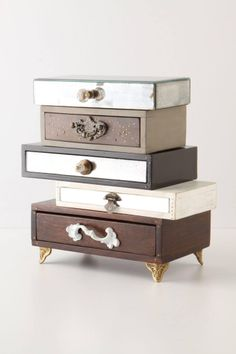 storage boxes, jewelri box, dresser, cigar boxes