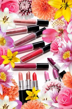 MAC A Fantasy of Flowers Cremesheen Glasses and Lipsticks