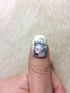 rose, incred nail, nailsnail design, nail arts