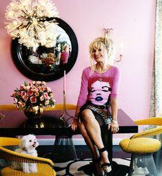 Designer Betsey Johnson