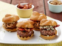 Sliders Recipe : Ree Drummond : Food Network