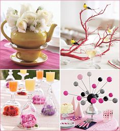 wedding table centerpieces